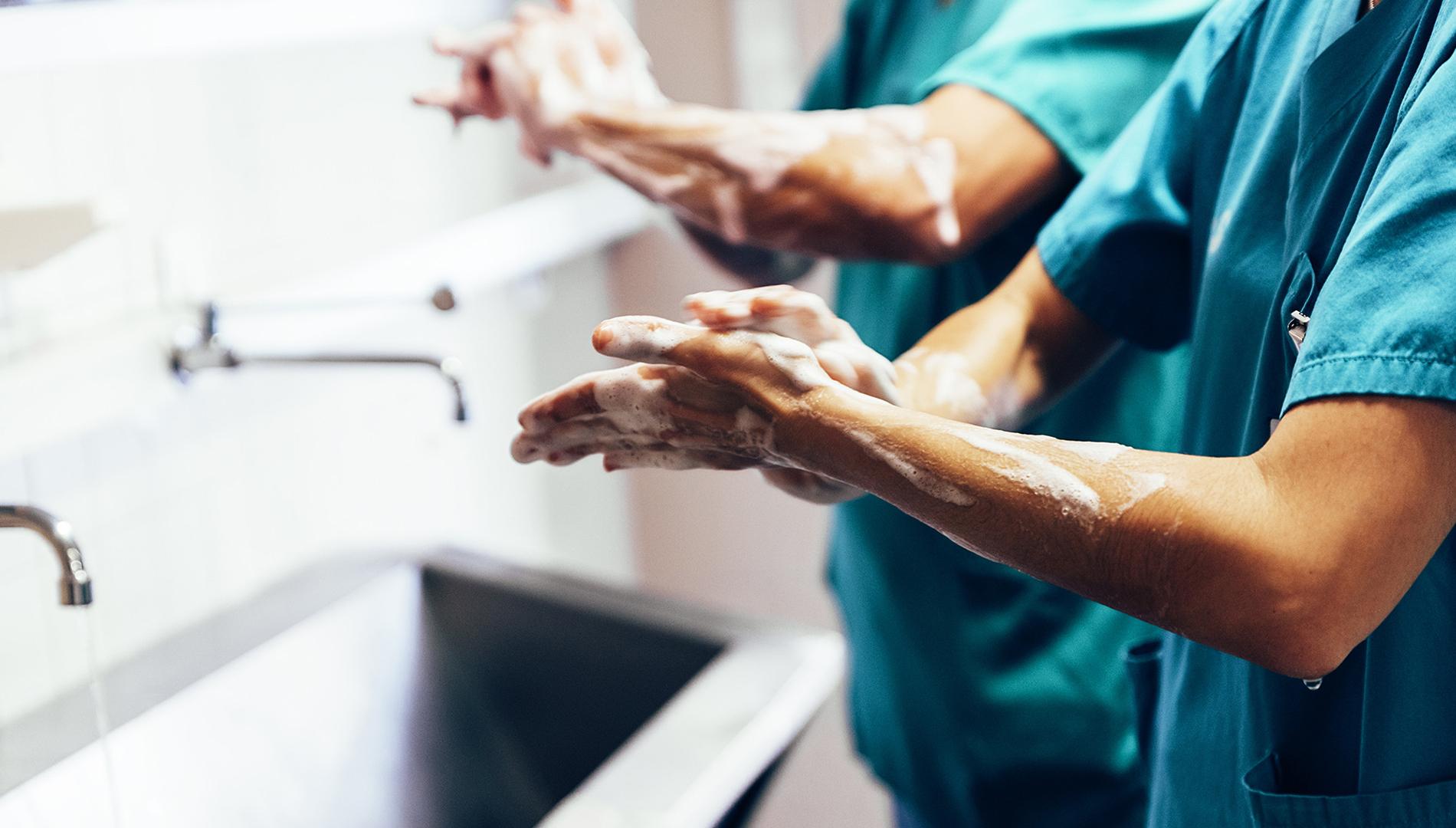 Гигиена рук фото