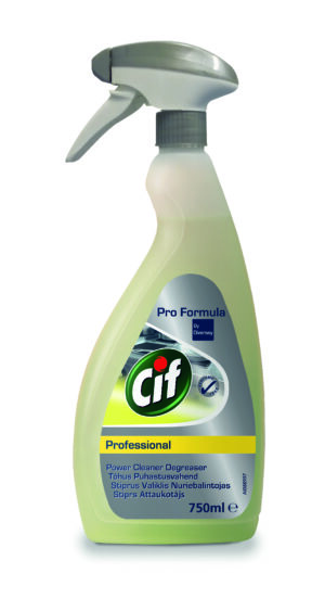 Cif Power Cleaner Degreaser 750ml фото