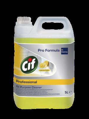 Cif Professional All Purpose Cleaner Lemon Fresh, 5L фото