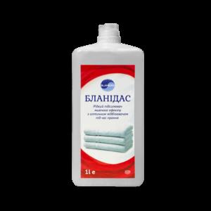Бланідас - Рідкий підсилювач миючого ефекту з оптичним відбілювачем під час прання,1л фото